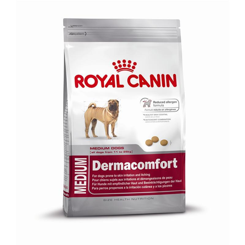 Сухой корм Royal Canin для собак Медиум Дермакомфорт