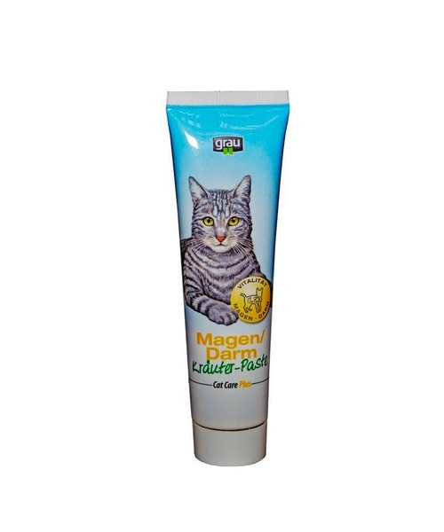 Grau Magen/Darm Krauter-Paste Cat Care Plus