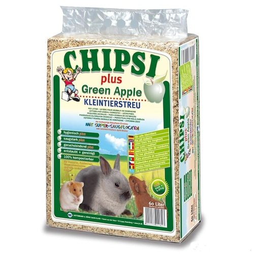 Опилки JRS CHIPSI plus Green Apple (1 кг)